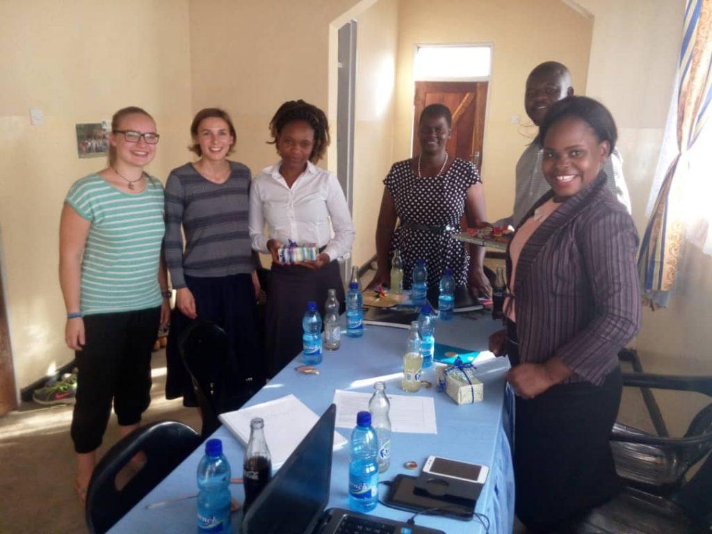 Karonga Diocese welcomes two German volunteers