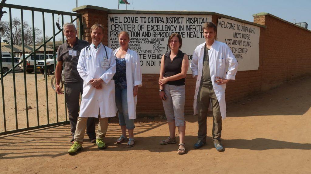 Interplast Team at Chitipa District Hospital