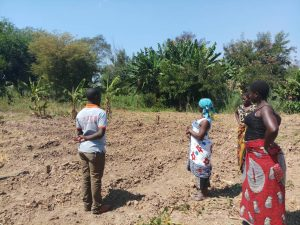 Development Desk Trains Mwankenja Mwangonde Villagers in crop production