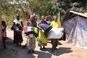 Development Desk of the Diocese of Karonga Support Mwakenja Mwangonde Village with Relief Items