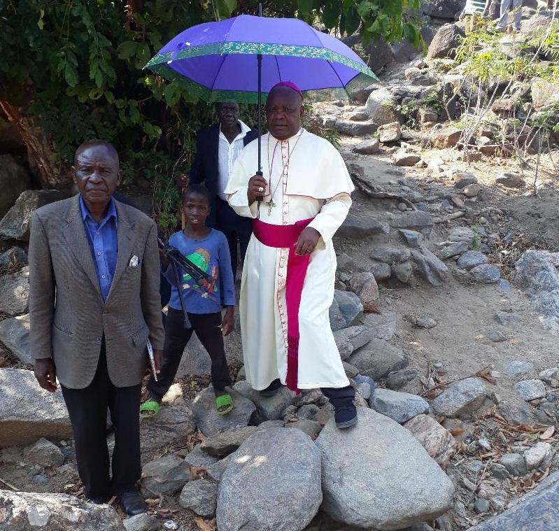 "Bishop Mtumbuka Visits Tcharo in the ""We Shall Go To Them"" Spirit"