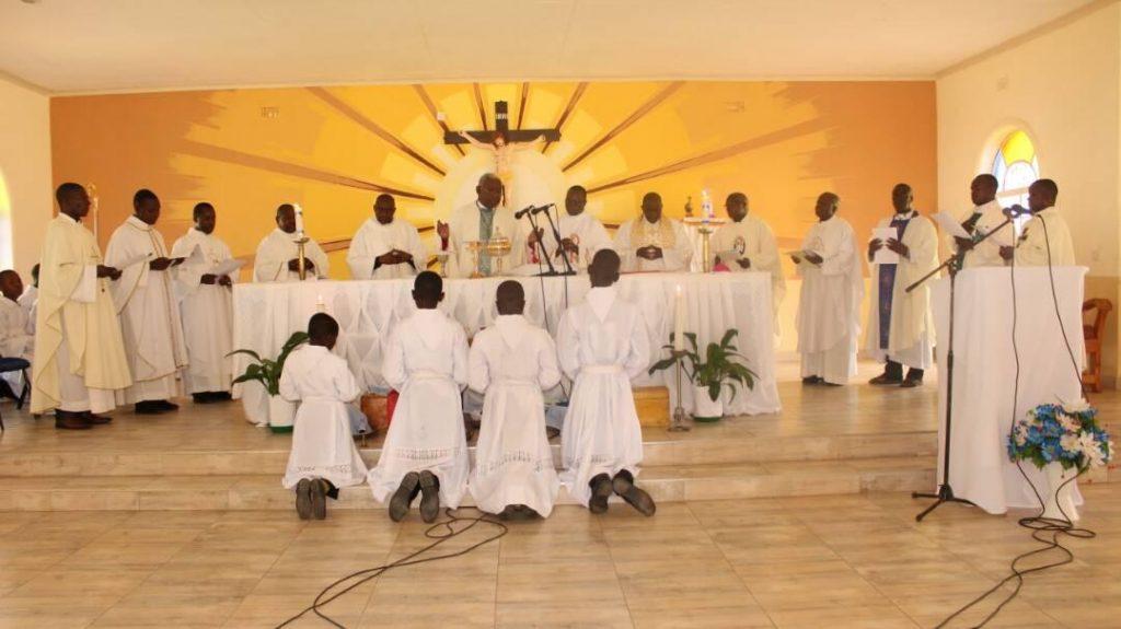 File photo: Bishop Mtumbuka at St Joseph the Worker Cathedral