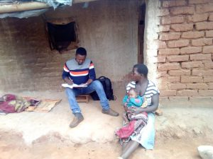 Data collection for the baseline survey for A-Plus Project in T/A Kachulu, Rumphi