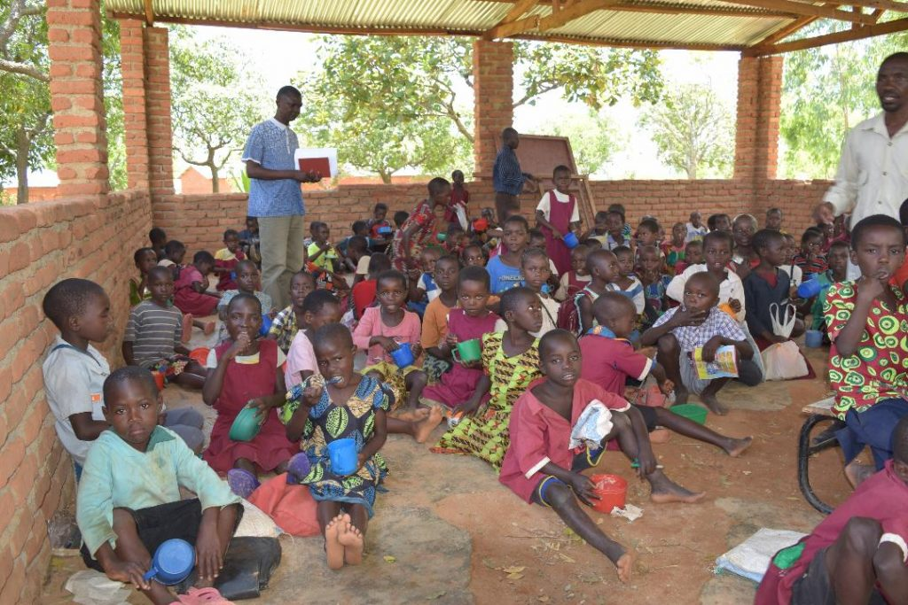School Feeding Programme keeping children in school