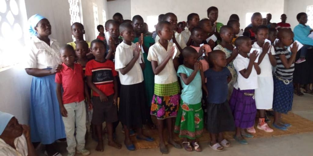 Future Church: A Group of Junior Sunday School Children