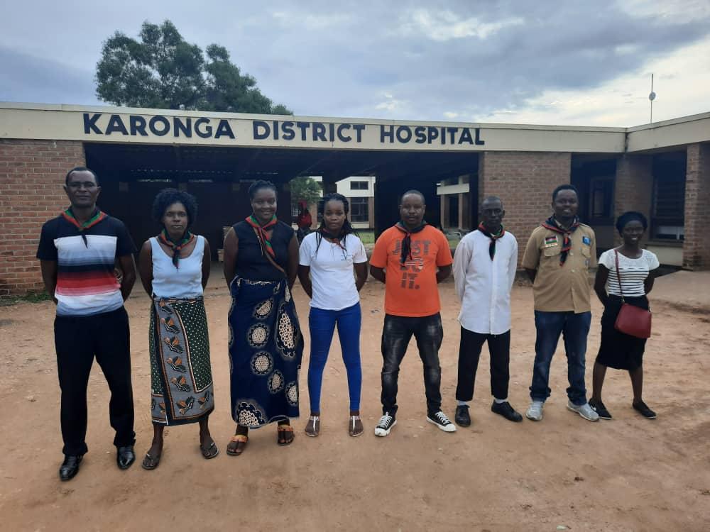 Catholic Scouts Cheer the Sick at Karonga District Hospital