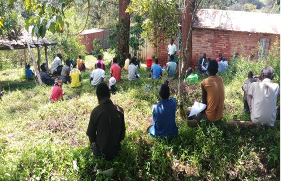 Training of personnel at Chipunga Farm on COVID-19 and prevention