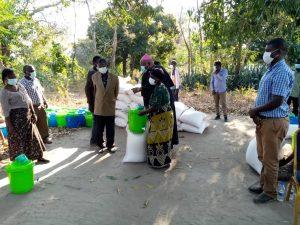 Bishop Mtumbuka Launches COVID-19 Relief Distribution